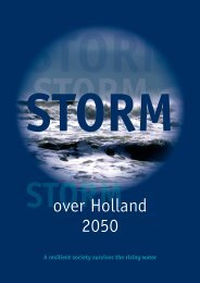 Storm over Holland 2050: a resilient society survives the rising water