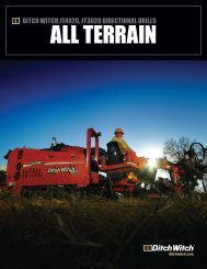 ALL TERRAIN - Ditch Witch Australia