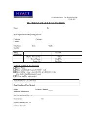 TELEPHONE SERVICE REQUEST FORM
