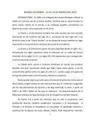 BEHMA COLOMBIA – 15 AL 19 DE MARZO DEL 2012