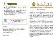 Buletin November - KKIHS