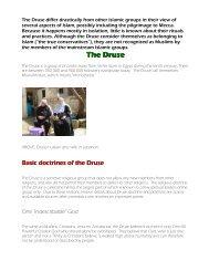 Druse, The - Philadelphiaproject.co.za