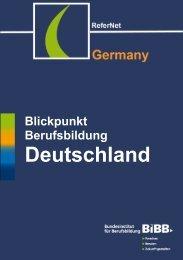 Blickpunkt Berufsbildung Deutschland - ReferNet