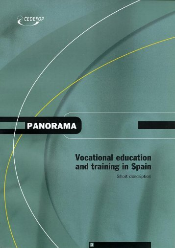 Vocational education and training in Spain