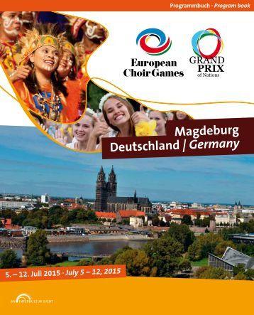 European Choir Games 2015 - Program Book