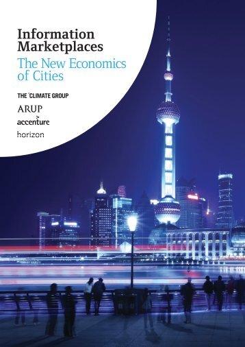 Information Marketplaces The New Economics of Cities