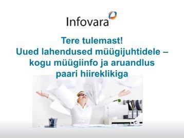 Business Discovery - Infovara OÜ