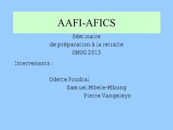AAFI-AFICS, Geneva - UNOG