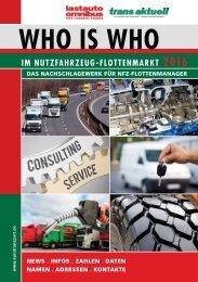 WHO IS WHO im Nutzfahrzeug-Flottenmarkt 2016