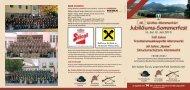 Einladung / Programm - TMK Altenmarkt