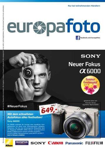 Europafoto Sommerbeilage 2015