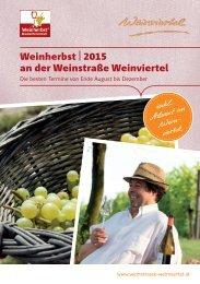 Weinherbst im Weinviertel