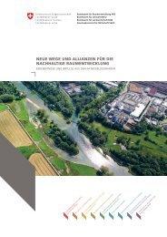 Neue Wege und Allianzen für die nachhaltige Raumentwicklung ...
