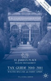 St James's Place Tax Guide 2010-2011 - AL-Tax