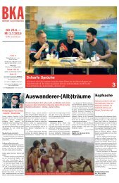 Berner Kulturagenda 2015 N°26