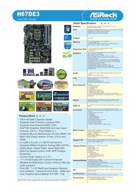 ASROCK H67DE3 APPCHARGER WINDOWS 7 X64 DRIVER
