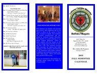fall semester 2009 calendar - Lutheran Campus Ministries