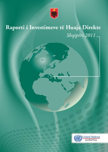 Raporti i investimeve të huaja direkte Shqipëri 2011 - Ministry of ...