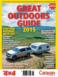 GREAT OUTDOORS GUIDE 2015 - English Sample