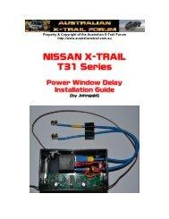 Nissan Xtrail - Australian Nissan X-Trail Forum and Store