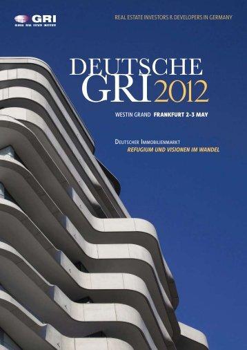 deutsche Gri 2012. - Global Real Estate Institute