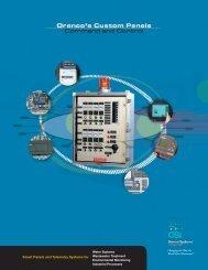 Custom Panels Brochure - Orenco Controls