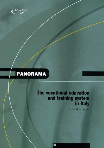 Vocational education and training in Italy
