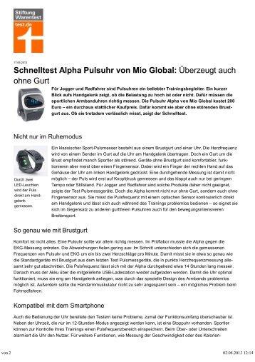 Stiftung Warentest (PDF) - danholt