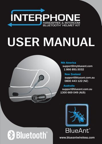 User Manual (PDF, 2.7 MB) - BlueAnt Wireless