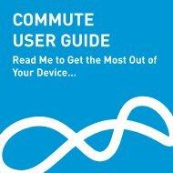 COMMUTE USER GUIDE - BlueAnt Wireless