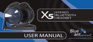 User Manual (PDF, 529 KB) - BlueAnt Wireless