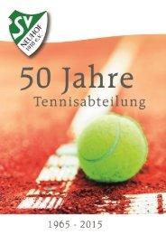 50 Jahre Tennisabteilung