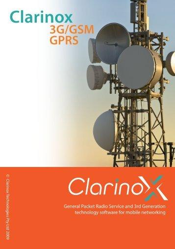 3G/GSM & GPRS - Clarinox
