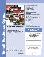 Small Business Opps. - AMERICA'S MediaMarketing