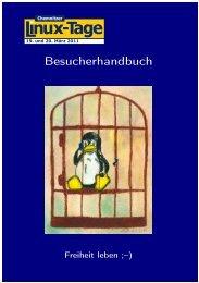 Besucherhandbuch - Chemnitzer Linux-Tage