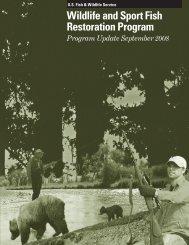 Program Update - Wildlife and Sport Fish Restoration Program - U.S. ...