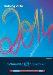 Mette Medienservice Schneider Schreibgeräte Katalog