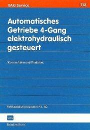 Page 1 Page 2 4-Gang-Automatic für VW und Audi Urn die ...