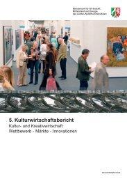 5. Kulturwirtschaftsbericht - Creative.NRW