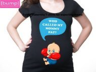 Funny Maternity T-shirts for expecting moms