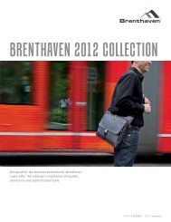 Designed for the business professional, Brenthaven cases offer the ...