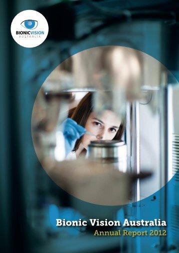 Annual Report 2012 (PDF, 5.27MB) - Bionic Vision Australia