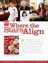Powered by the electricity and magic of its celebrity chefs, Food ...