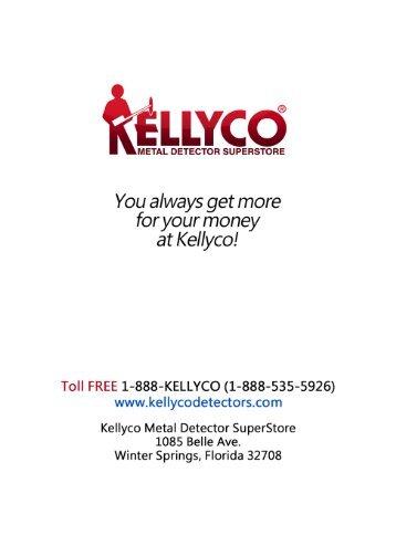 Instruction Manual - Kellyco Metal Detectors