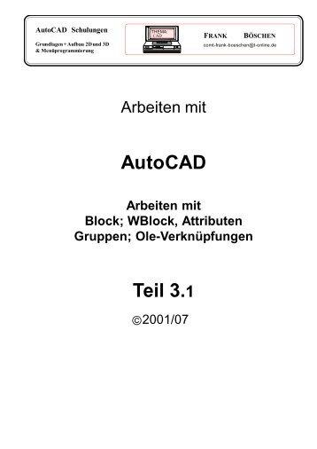 AutoCAD Teil 3.1 - VHS-DH.de