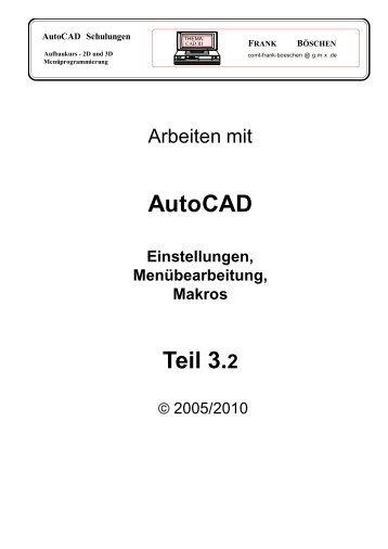 AutoCAD Teil 3.2 - VHS-DH.de