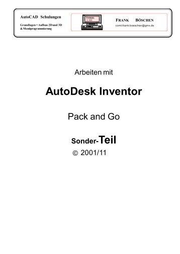 AutoDesk Inventor - VHS-DH.de