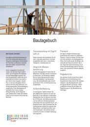 Bautagebuch - AUER - Die Bausoftware GmbH