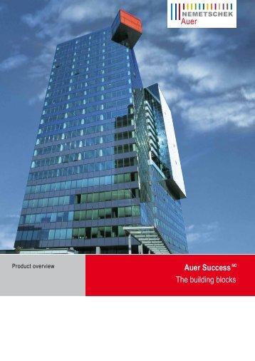 Auer SuccessNG The building blocks - AUER - Die Bausoftware ...