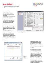 Info-Download - AUER - Die Bausoftware GmbH